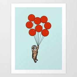 I Believe I Can Fly English Bulldog Art Print