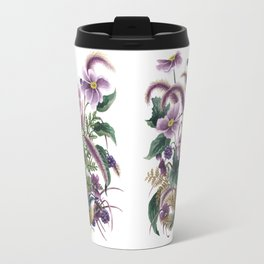 Autumn Nuthatch Travel Mug