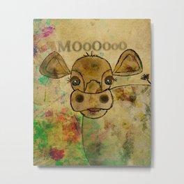 Ginkelmier Land ~ Mooo ~ Cow Metal Print