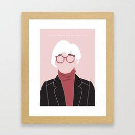 Andy Framed Art Print
