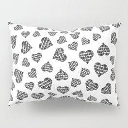 Book Lover Heart Pattern Pillow Sham