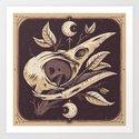 Tarot Crow by christidutoit