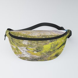 Path in the woods on the Alps in summer Fanny Pack