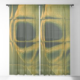 Alien Files Sheer Curtain