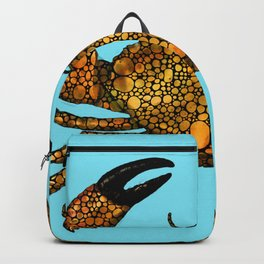 Stone Rock'd Stone Crab By Sharon Cummings Backpack
