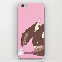 bunnies iPhone & iPod Skins featuring Bunnies by bloozen