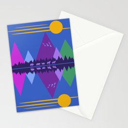 Wolf Pack Passage Stationery Cards