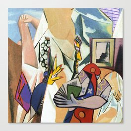 Mixed Picasso · 3 Canvas Print