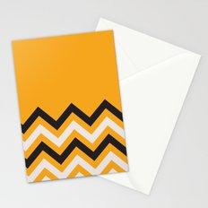 Orange Zigzag Stationery Cards