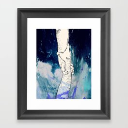 And I Will Cover You Framed Art Print