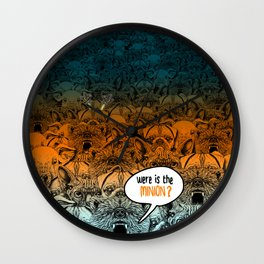 Were is the minion ? Wall Clock