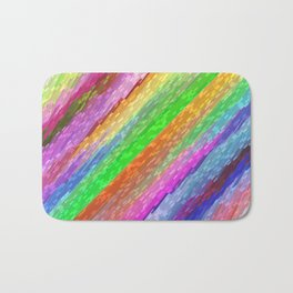 Colorful digital art splashing G479 Bath Mat