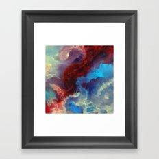 Everything begins with a spark Framed Art Print