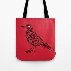 Murderous Crows Tote Bag
