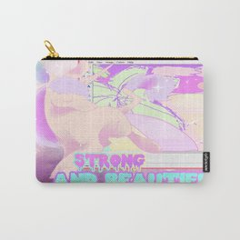 Strong And Beautiful  Carry-All Pouch