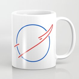 NASA Aesthetic Logo Coffee Mug