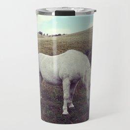 Pony Grazing Travel Mug