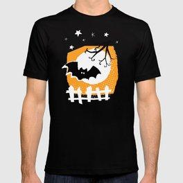 My favorite Bat -Pattern T-shirt