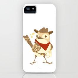 Wild Sparrow iPhone Case