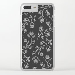 Sleeping Tendrils Clear iPhone Case