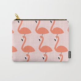 Flamingo Fever Carry-All Pouch