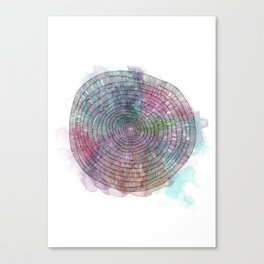 Rings Canvas Print