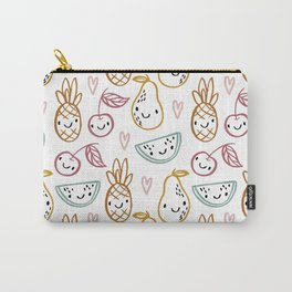 Happy Fruits Carry-All Pouch