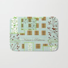 Nature's Patterns Series: Titled Pattern Bath Mat