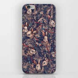 Bunnerflies iPhone Skin