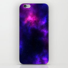 Purple Star Galaxy iPhone Skin