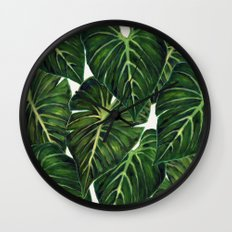 Tropical II Wall Clock