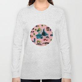 CityView pink Long Sleeve T-shirt