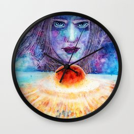 Meteor Wall Clock