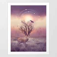 In the Stillness Art Print