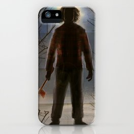 The Flannel Shirt Massacre iPhone Case