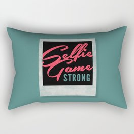 Selfie Game Strong Rectangular Pillow