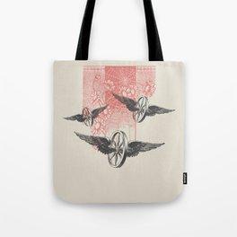 Cosmic Wheels Tote Bag
