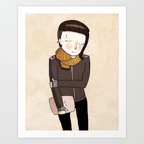 Lisbeth Art Print