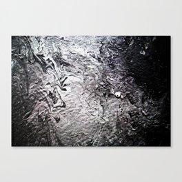 Black Lava III Canvas Print