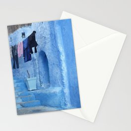Laundry Day in Morocco Stationery Cards