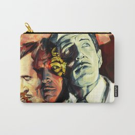 The Many Faces of Vincent Price Carry-All Pouch