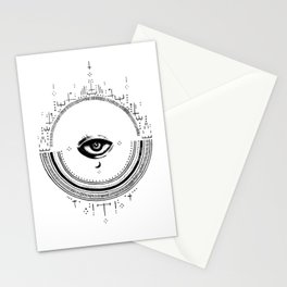 All Seeing Third Eye  Stationery Cards