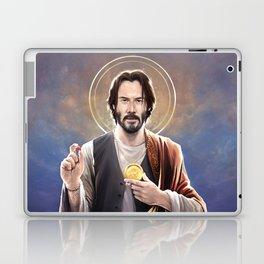 Saint Keanu of Reeves Laptop & iPad Skin