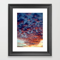 Red Carpet Framed Art Print
