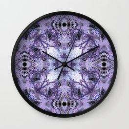 Inverse Fern Reflection Wall Clock