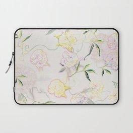 Pastel Hydrangea Laptop Sleeve