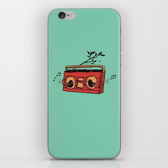 Nature's boombox iPhone & iPod Skin