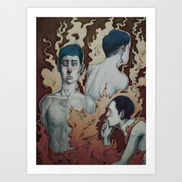 Dissociative Identity Disorder  Art Print