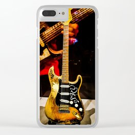 Stevie Ray Vaughan - #1 Guitar Clear iPhone Case