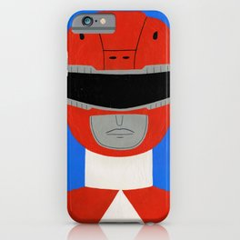 Red Ranger iPhone Case